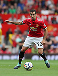 Manchester United's Henrikh Mkhitaryan in action during the premier league match at Old Trafford Stadium, Manchester. Picture date 13th August 2017. Picture credit should read: David Klein/Sportimage