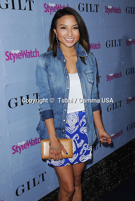 Jeannie Mai  at the People Stylewatch Denim Party 2013 at Palihouse in West Hollywood.