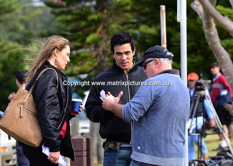 Home and Away filming at Palm Beach on 31 August 16   MATRIXPICTURES AU
