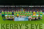The South Kerry Team before the Senior County Football Final in Austin Stack Park on Sunday