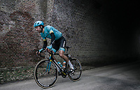 Laurens De Vreese (BEL/Astana)<br /> <br /> 61th E3 Harelbeke 2018 (1.UWT)<br /> 1day race: Harelbeke &rsaquo; Harelbeke - BEL (206km)