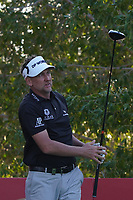 Ian Poulter (ENG) on the 8th tee during the Pro-Am of the Abu Dhabi HSBC Championship 2020 at the Abu Dhabi Golf Club, Abu Dhabi, United Arab Emirates. 15/01/2020<br /> Picture: Golffile | Thos Caffrey<br /> <br /> <br /> All photo usage must carry mandatory copyright credit (© Golffile | Thos Caffrey)