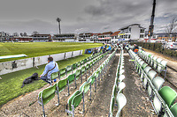 HDR Artistic view of the St Lawrence ground during the County Championship Division 2 game between Kent and Gloucestershire at the St Lawrence Ground, Canterbury, on April 15, 2018.