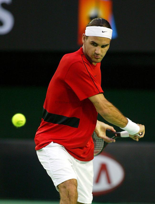 Roger Federer, Australian Tennis Open 2004, Melbourne, Australia