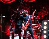 SUNRISE FL - SEPTEMBER 20: Jordan Cook, Joseph Braley and S.J. Kardash of Reignwolf perform at The BB&T Center on September 20, 2019 in Sunrise, Florida. Photo by Larry Marano © 2019