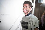 Sergio Ramos attends to the cocktail presentation of Doble Donkey at Fox Restaurant in Madrid, Spain September 28, 2017. (ALTERPHOTOS/Borja B.Hojas)