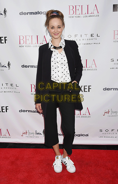 LOS ANGELES, CA - JUNE 23:  Actress Laura Bilgeri attends the BELLA Los Angeles Summer Issue Cover Launch Party at Sofitel Los Angeles At Beverly Hills on June 23, 2017 in Los Angeles, California.<br /> CAP/ROT/TM<br /> &copy;TM/ROT/Capital Pictures