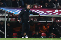 Aston Villa Assistant Coach, John Terry, issues some instructions from the touchline during Brentford vs Aston Villa, Sky Bet EFL Championship Football at Griffin Park on 13th February 2019
