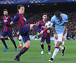 11.03.2015 Barcelona.UEFA champions League. Rounf 0f 16 2nd leg. Picture show Rakitic durring game between FC Barcelona against Manchester city at Camp Nou