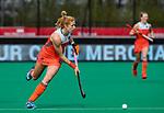 ROTTERDAM - Margot Van Geffen (Ned)  tijdens de Pro League hockeywedstrijd dames, Netherlands v USA (7-1)  ..COPYRIGHT  KOEN SUYK
