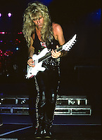 Adrian Vandenberg of Whitesnake performs UNO in New Orleans Louisiana, USA