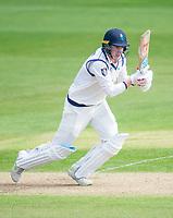 Picture by Allan McKenzie/SWpix.com - 20/04/2018 - Cricket - Specsavers County Championship - Yorkshire County Cricket Club v Nottinghamshire County Cricket Club - Emerald Headingley Stadium, Leeds, England - Harry Brook bats.
