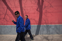 Beijing street scene.