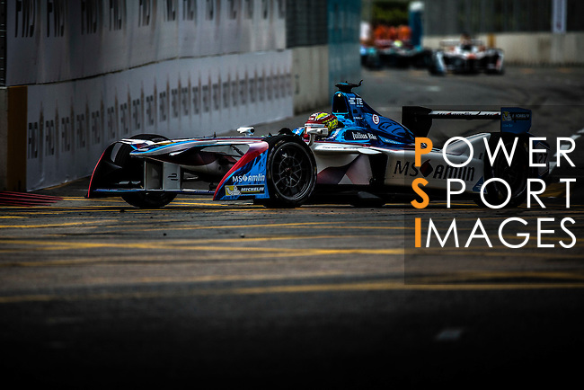Robin Frijns of Andretti Formula E during the first race of the FIA Formula E Championship 2016-17 season HKT Hong Kong ePrix at the Central Harbourfront Circuit on 9 October 2016, in Hong Kong, China. Photo by Victor Fraile / Power Sport Images