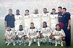 23 August 2007: Los Angeles starting eleven (plus two unidentified people, top row either end), pregame. Club Deportivo Chivas defeated the Los Angeles Galaxy 3-0 in a Major League Soccer regular season match at the Home Depot Center in Carson, CA.