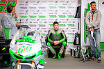 The rider Nicky Hayden in the box during the MotoGP Grand Prix Itala in Mugello, Florence. 30/05/2014. Samuel de Roman/Photocall3000.