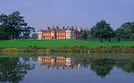 A088W4 Parkland around Helmingham Hall Suffolk England