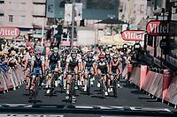 a first grupetto rolling in <br /> <br /> 104th Tour de France 2017<br /> Stage 15 - Laissac-Sévérac l'Église › Le Puy-en-Velay (189km)