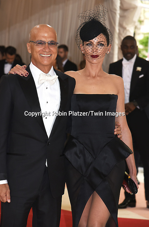 Jimmy Iovine and wife Liberty Ross attend the Metropolitan Museum of Art Costume Institute Benefit Gala on May 2, 2016 in New York, New York, USA. The show is Manus x Machina: Fashion in an Age of Technology. <br /> <br /> photo by Robin Platzer/Twin Images<br />  <br /> phone number 212-935-0770
