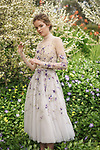 Sunday Mail Fashion with Mirella , Paolo Sebastian Gowns,shot Marybank- 404 Montacute Road, Rostrevor.<br /> Model  Eliza Waterhouse from Finesse   Photo: Nick Clayton