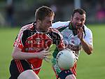Sean McDermotts Danny Reilly St Kevins Cian Callan. Photo:Colin Bell/pressphotos.ie