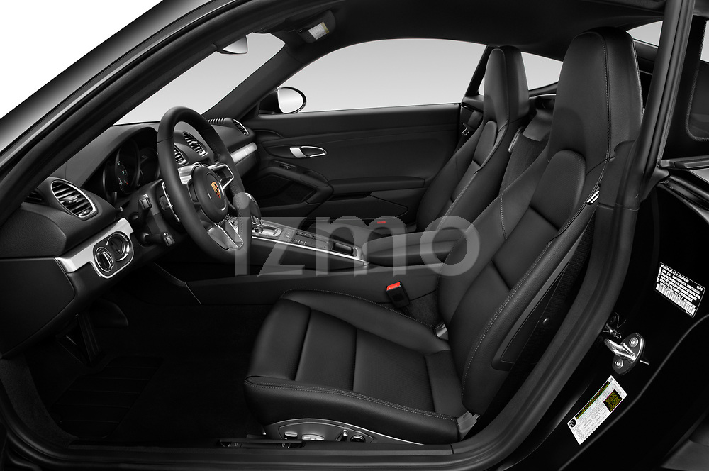 Front seat view of a 2019 Porsche 718 Cayman Base 2 Door Coupe front seat car photos