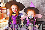Having a spooktacular time at Ballincrossig national school on Friday were: Katie and Mairead Mahoney.