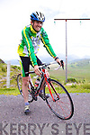 Eoin Ryan at the top of Ballaghisheen, preparing for the Credit Union Iveragh 200.  Eoin completed 5 circuits of the Ring of Kerry last weekend and helped raise funds for Kerry Parents & Friends Valentia.