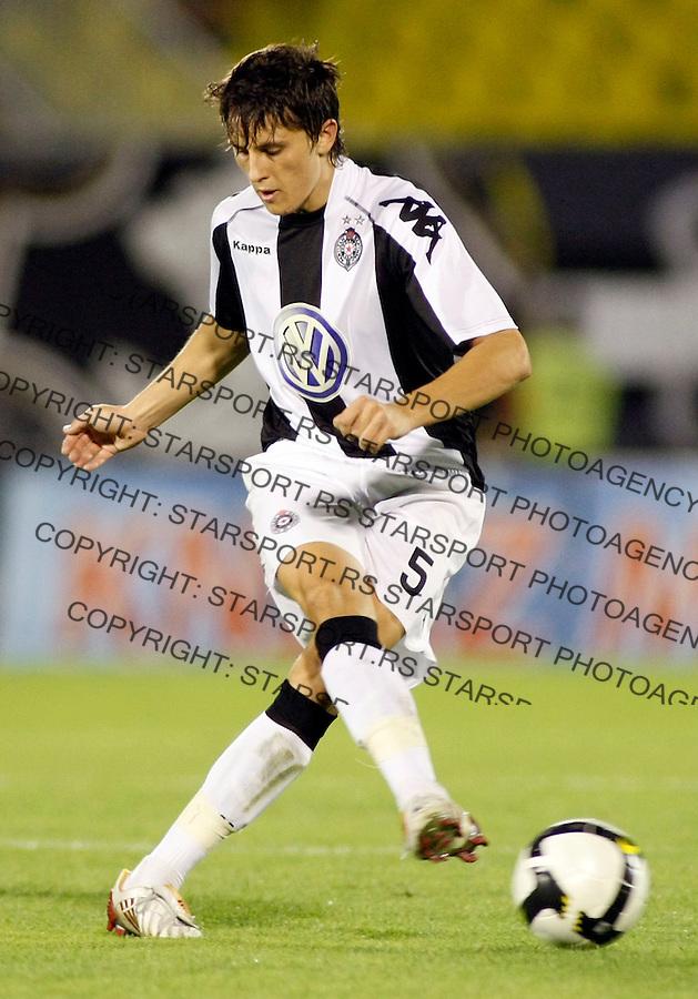 Fudbal, Super liga, season 2008/09.Partizan Vs. Banat (Zrenjanin).Ljubomir Fejsa.Baku, 08.17.2008..foto: Srdjan Stevanovic ©