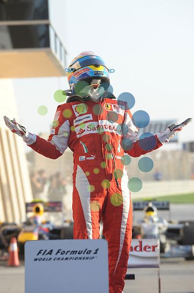 F1 GP Bahrain, Manama 12. - 14. March 2010.Fernando Alonso (ESP),  Scuderia Ferrari ..Picture:Hasan Bratic/Universal News And Sport (Europe) 14 March 2010.