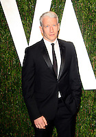 Anderson Cooper attending the Vanity Fair Oscar Party held at the Sunset Tower Hotel in Los Angeles, California on 26.02.2012 Credit: Martin Smith/face to face / mediapunchinc.com /*NORTEPHOTO.COM*<br />