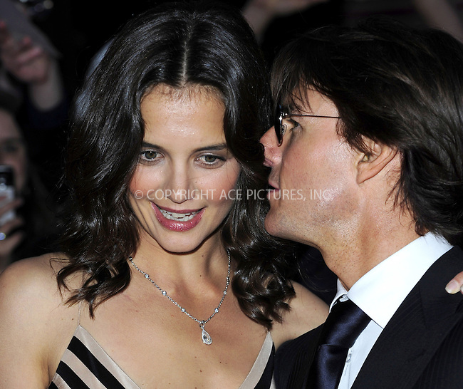 WWW.ACEPIXS.COM . . . . .  ..... . . . . US SALES ONLY . . . . .....May 26 2010, London....Tom Cruise and Katie Holmes at The National Movie Awards held at the Royal Festival Hall on May 26 2010 in London......Please byline: FAMOUS-ACE PICTURES... . . . .  ....Ace Pictures, Inc:  ..tel: (212) 243 8787 or (646) 769 0430..e-mail: info@acepixs.com..web: http://www.acepixs.com