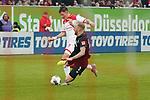 18.01.2020, Merkur Spielarena, Duesseldorf , GER, 1. FBL,  Fortuna Duesseldorf vs. SV Werder Bremen,<br />  <br /> DFL regulations prohibit any use of photographs as image sequences and/or quasi-video<br /> <br /> im Bild / picture shows: <br /> Dawid Kownacki (Fortuna Duesseldorf #9), im Zweikampf gegen  Kevin Voigt (Werder Bremen #3), <br /> <br /> Foto © nordphoto / Meuter
