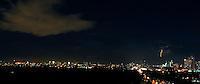 Lightning storms over Metro Manila, Philippines