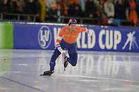 SCHAATSEN: HEERENVEEN: 15-12-2018, ISU World Cup, 500m Men Division A, Michel Mulder (NED), ©foto Martin de Jong