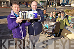 FAIRTRADE: Launching Fairtrade Fortnight from February 22nd to March 8th on Monday at Tralee Town Council from front l-r were: John waters Chairman of Fairtrade Tralee) and Colm Lynch (engineer with Roads Dept. TTC). Back l-r were: Abdurahman Ame, Sr. Regina and Sr. Finian (Pres Tralee), Teresa Galvin and Sylvia Thompson.