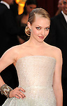 HOLLYWOOD, CA. - March 07: Amanda Seyfried  arrives at the 82nd Annual Academy Awards held at the Kodak Theatre on March 7, 2010 in Hollywood, California.