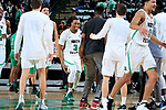 DENTON TEXAS, February 7: University of North Texas Mean Green Men's Basketball v Marshall University at the Super Pit in Denton on February 7, 2019 (Photo Rick Yeatts Photography/Colin Mitchell)