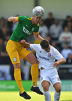 Preston North End's Paul Huntington in action<br /> <br /> Photographer Dave Howarth/CameraSport<br /> <br /> Football Pre-Season Friendly - AFC Flyde v Preston North End - Saturday July 13th 2019 - Mill Farm - Flyde<br /> <br /> World Copyright © 2019 CameraSport. All rights reserved. 43 Linden Ave. Countesthorpe. Leicester. England. LE8 5PG - Tel: +44 (0) 116 277 4147 - admin@camerasport.com - www.camerasport.com