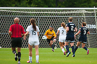Sky Blue FC goalkeeper Brittany Cameron (1). Sky Blue FC and FC Kansas City played to a 2-2 tie during a National Women's Soccer League (NWSL) match at Yurcak Field in Piscataway, NJ, on June 26, 2013.