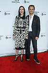 "Jill Kargman and Harry Kargman arrives at the Clive Davis: ""The Soundtrack Of Our Lives"" world premiere for the Opening Night of the 2017 TriBeCa Film Festival on April 19, 2017 at Radio City Music Hall."