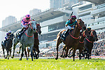 SHA TIN, HONG KONG – December 8: Beat The Clock, ridden by Joao Moreira wins the Group 1 Longines Hong Kong Sprint on Longines Hong Kong International Race Meeting at Sha Tin Racecourse in Hong Kong. Michael McInally/Eclipse Sportswire/CSM