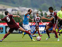 Dries Mertens  durante l'amichevole precampionate tra Napoli e Cittadella   Dimaro 29 Luglio 2015<br /> <br /> Friendly soccer match between   SSC Napoli  in Dimaro Italy July 28, 2015