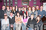 40TH: Ann Muire OConnor, Abbeylands, Milltown (seated centre) celebrates her 40th birthday with family and friends in The Fishery Bar, Killorglin, last Friday..