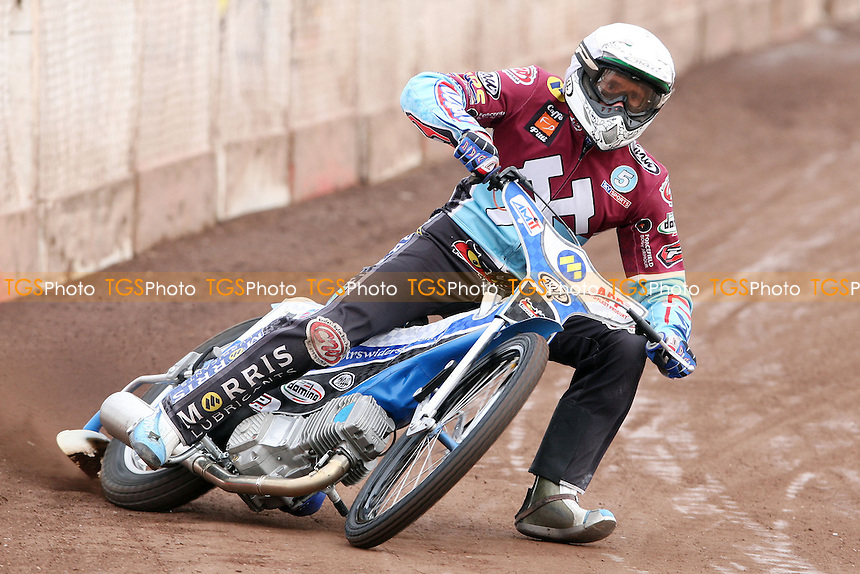 Piotr Swiderski of Lakeside Hammers - Lakeside Hammers Practice Day at the Arena Essex Raceway, Pufleet - 21/03/13 - MANDATORY CREDIT: Rob Newell/TGSPHOTO - Self billing applies where appropriate - 0845 094 6026 - contact@tgsphoto.co.uk - NO UNPAID USE.