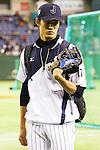 Shintaro Fujinami (JPN),<br /> NOVEMBER 15, 2014 - Baseball : <br /> 2014 All Star Series Game 3 between Japan 4-0 MLB All Stars <br /> at Tokyo Dome in Tokyo, Japan. <br /> (Photo by Shingo Ito/AFLO SPORT)[1195]
