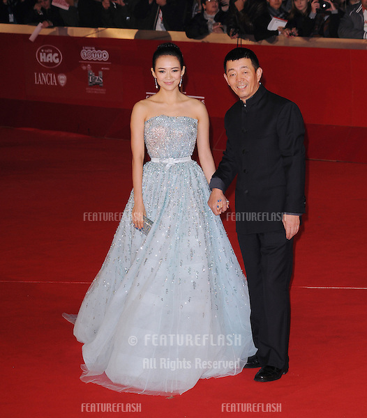 "Zhang Ziyi and Gu Changwei attend the premiere of ""Love for Life"" during the 6th International Rome Film Festival..November 2, 2011, Rome, Italy.Picture: Catchlight Media / Featureflash"