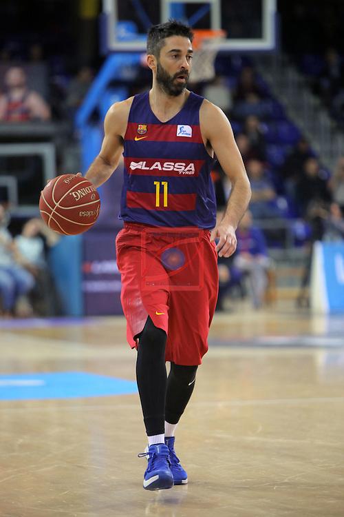 League ACB-ENDESA 2016/2017 - Game: 16.<br /> FC Barcelona Lassa vs Rio Natura Monbus Obradoiro: 100-76.<br /> Juan Carlos Navarro.