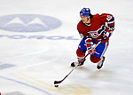 31 March 2007: Montreal Canadiens center Maxim Lapierre in action against the Buffalo Sabres at the Bell Centre in Montreal, Canada...Mandatory Photo Credit: Ed Wolfstein Photo *** Editorial Sales through Icon Sports Media *** www.iconsportsmedia.com