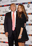 NEW YORK - APRIL 5:  Donald Trump and Melania Knauss attend the 2010 Dressed to Kilt  at M2 Club April 5, 2010 in New York City. (Photo by Donald Bowers)